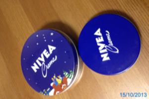 ニベア、青缶